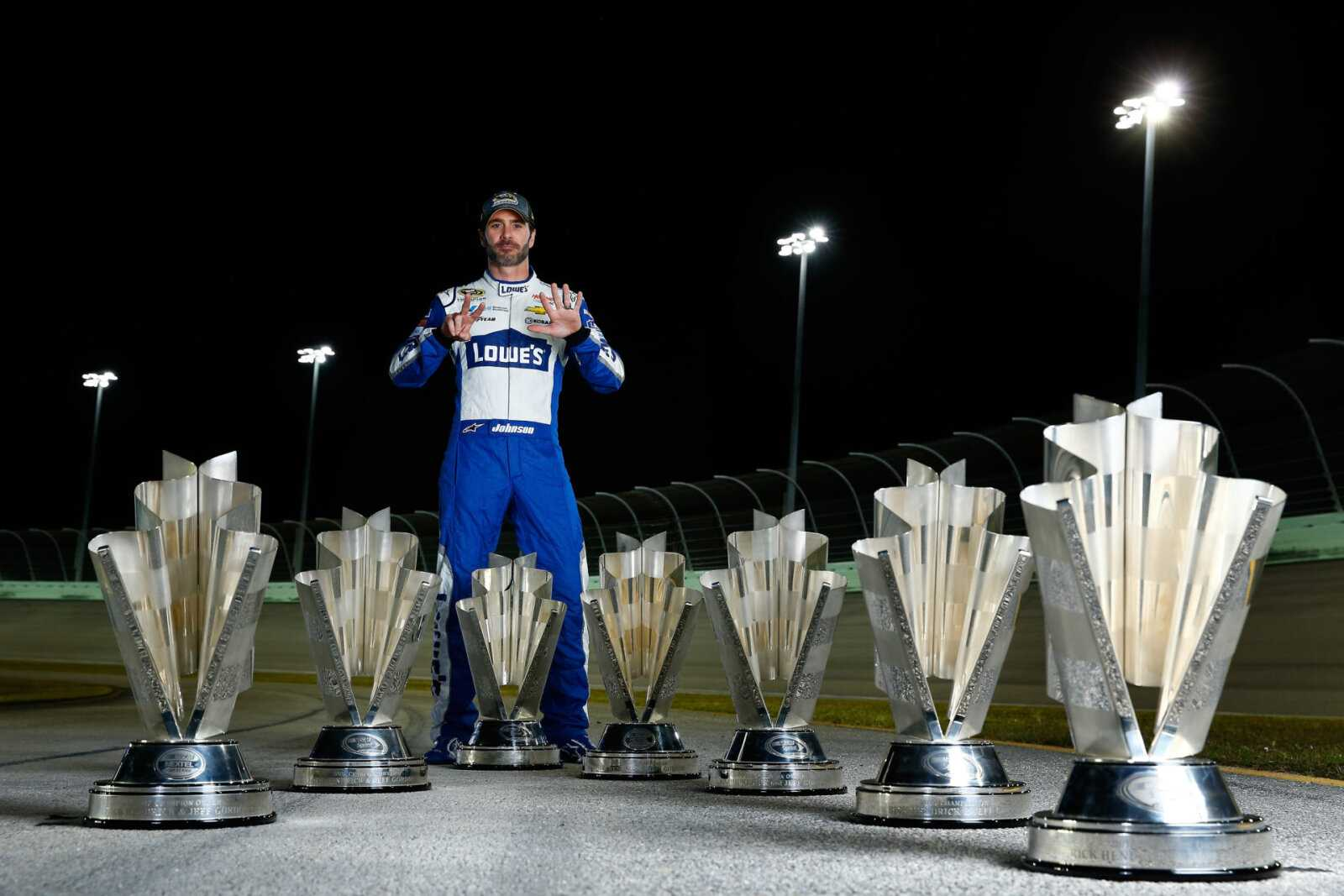 Quels records Jimmie Johnson a-t-il créés dans son illustre carrière NASCAR?