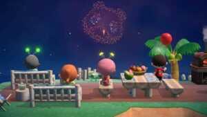 Animal Crossing New Horizons: tout ce que vous devez savoir sur la mise à jour des feux d'artifice d'août 2021