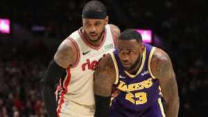 Rumeurs commerciales NBA : Carmelo Anthony s'apprête-t-il à s'associer avec LeBron James aux Lakers de Los Angeles ?