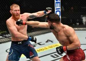 UFC Fight Night : Smith vs Spann : Arman Tsarukyan vs Christos Giagos - Prédiction et analyse