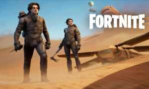 """Les personnages de """"Dune"""" de Denis Villeneuve joués par Zendaya et Timothée Chalamet arrivent sur Fortnite"""